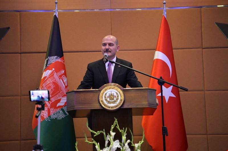 Minister of Interior Süleyman Soylu Attended the Reception on the Occasion of the National Day of Afghanistan