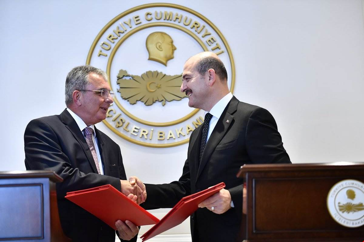 Protocol of Cooperation Between Turkey and Trnc on Security Tightening Practices for Trnc's City Surveillance System and Border Gates Signed