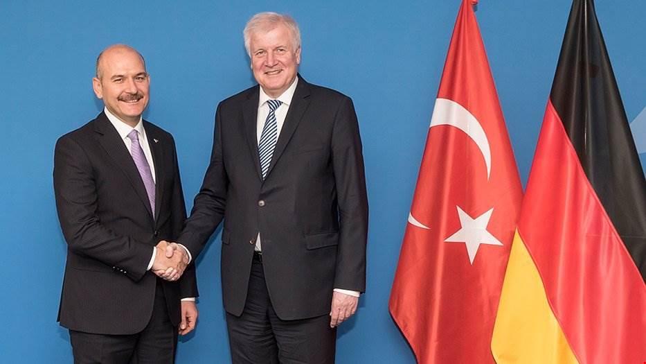 Minister Soylu met with the Minister of Interior of Federal Republic of Germany