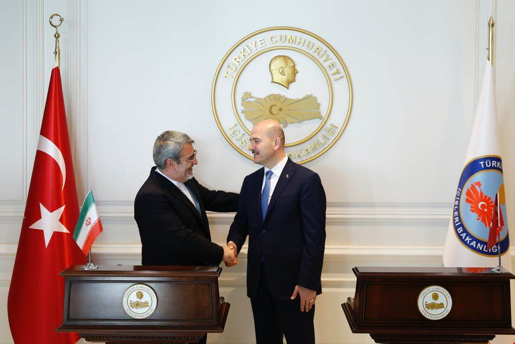 Minister Soylu Received Mr. Abdurriza Rahmani Fazli, The Minister of Iran and His Accompanying Delegation