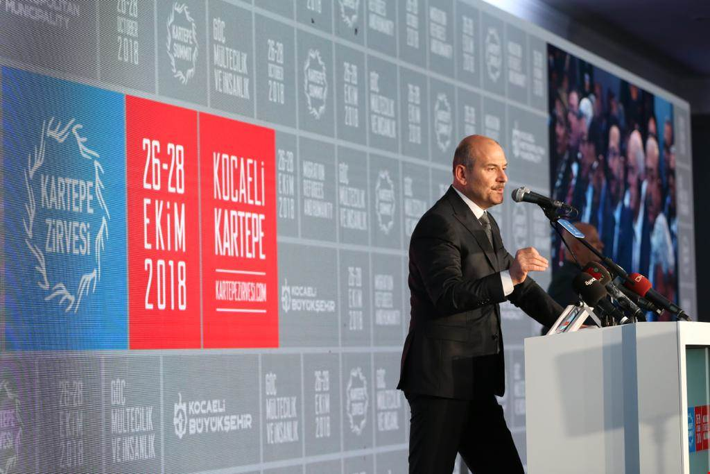 Minister Soylu Attended The Kartepe Summit Themed Immigration and Humanity