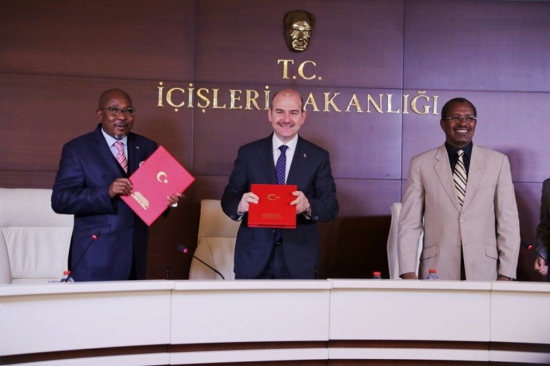 Cooperation Agreement In The Field Of Security Between Turkey And Chad Signed