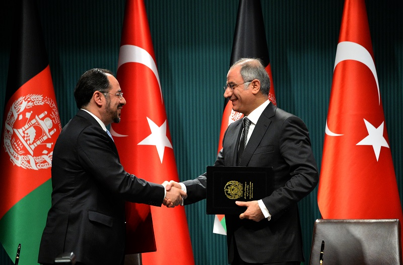 Afghan President and His Accompanying Delegation's Official Visit to Turkey