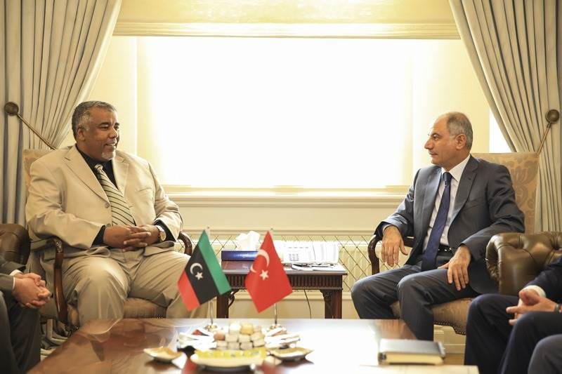 Libyan Minister of Local Government Visited Our Ministry