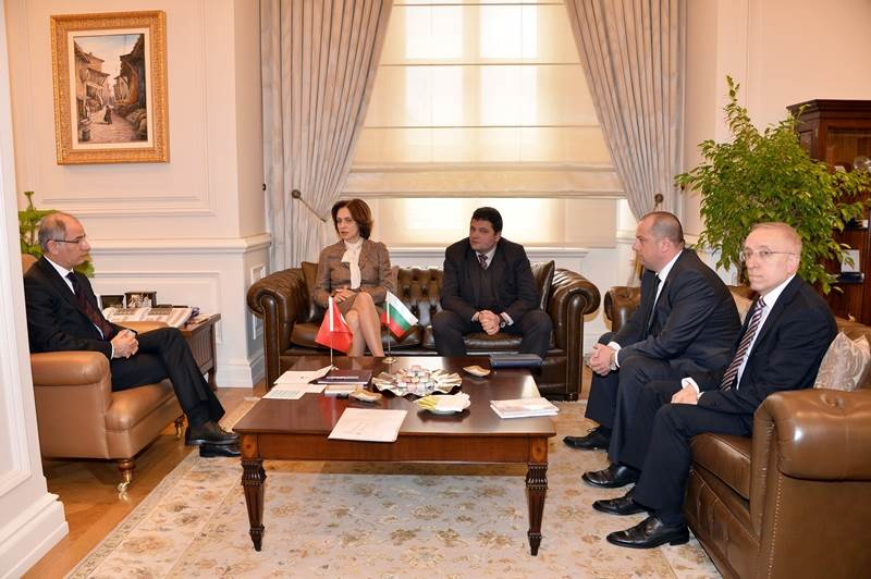 Minister of Interior Efkan ALA Received The Bulgarian Ambassador